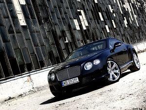 Bentley Continental GT | Za kierownicą