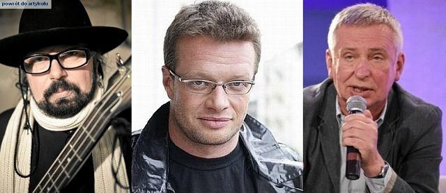Zbigniew Hołdys, Marcin Meller, Krzysztof Materna