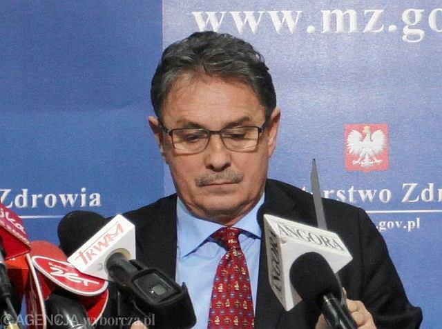 Andrzej Włodarczyk stracił stanowisko za zamieszanie przy wprowadzaniu nowej listy leków refundowanych
