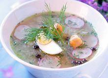 Aromatyczna zupa ogórkowa z koperkiem - ugotuj
