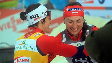 Marit Bjoergen i Justyna Kowalczyk
