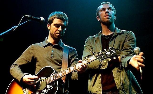Noel Gallagher i Chris Martin