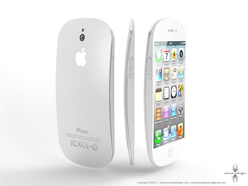 iPhone 5 - wizja artysty