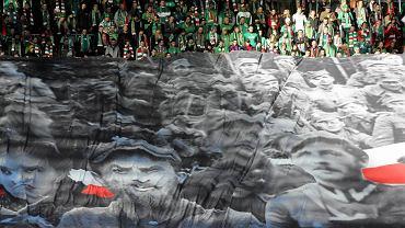 Transparent Żołnierzy wyklętych