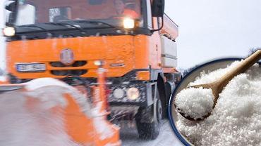 Sól przeznaczona do usuwania śniegu i lodu z ulic trafiła do sprzedaży jako sól spożywcza