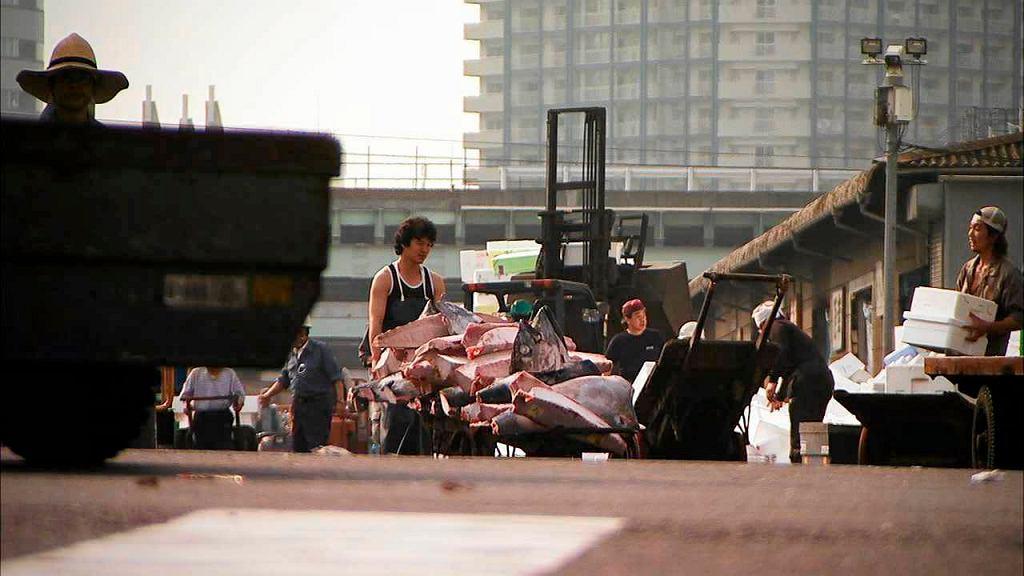 Kadr z filmu 'Sushi. Światowa pułapka' (Sushi: The Global Catch; reż. Mark S. Hall)