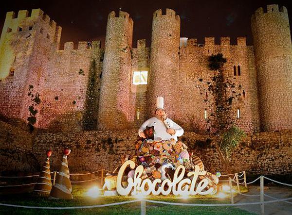Festiwal czekolady w Óbidos