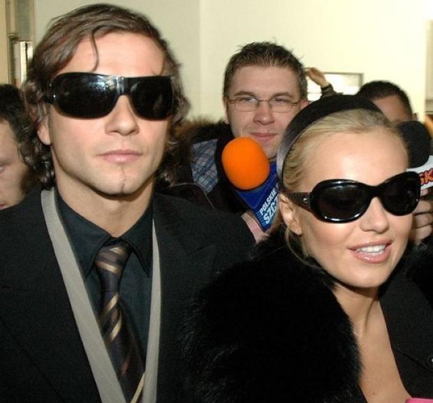 10-01-08 Szczecin  Sad Okregowy  Rozwod Dody i Radoslawa Majdana  Foto Marcin Bielecki/FORUM