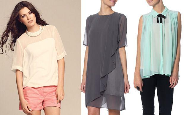 Vero Moda, koronki i tkaniny przeźroczyste, trendy,