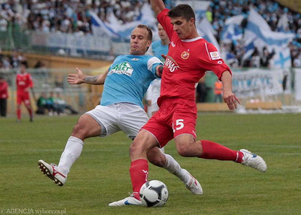 Mecz Pucharu Polski pomiędzy Stomilem Olsztyn a Widzewem Łódź (2011 r.)