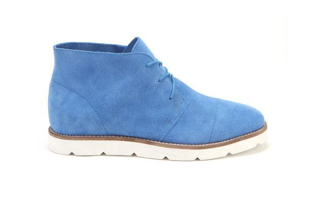 Męskie buty zamszowe. Cena: 659 zł