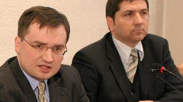 Zbigniew Ziobro i Marek Wełna, styczeń 2006