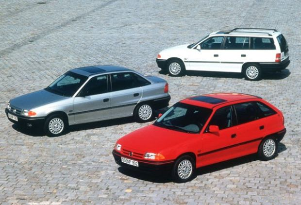 Opel Astra I (1991-2002) - opinie Moto.pl