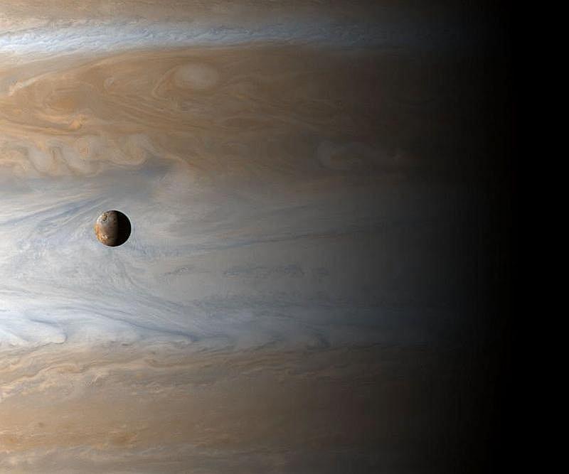 Io na tle Jowisza