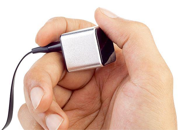 The Kube2, który twierdzi, że ten sześcian o krawędzi 2,5 cm to najmniejszy odtwarzacz MP3 na świecie