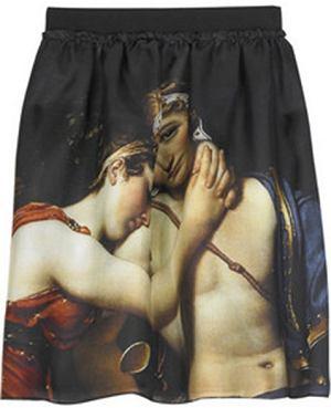 spódnica, D&G, obraz