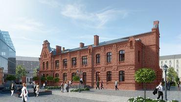 Lofty w Warszawie, w dawnej fabryce wódek Koneser