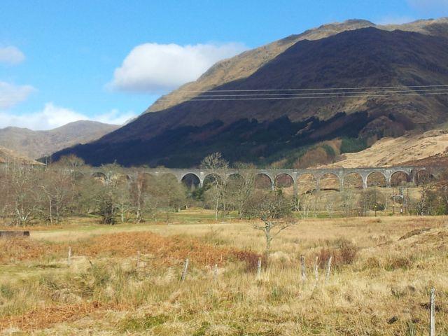 Podróż pociągiem West Highland Line przez Szkocję. Fot. Jakub Kaniewski
