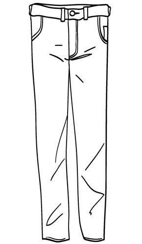 dżinsy, spodnie, STRAIGHT