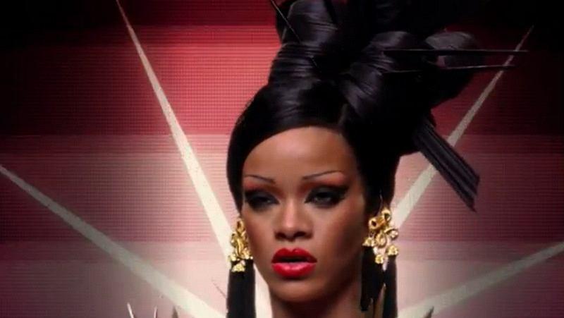 Rihanna orientalnie dla zespołu Coldplay