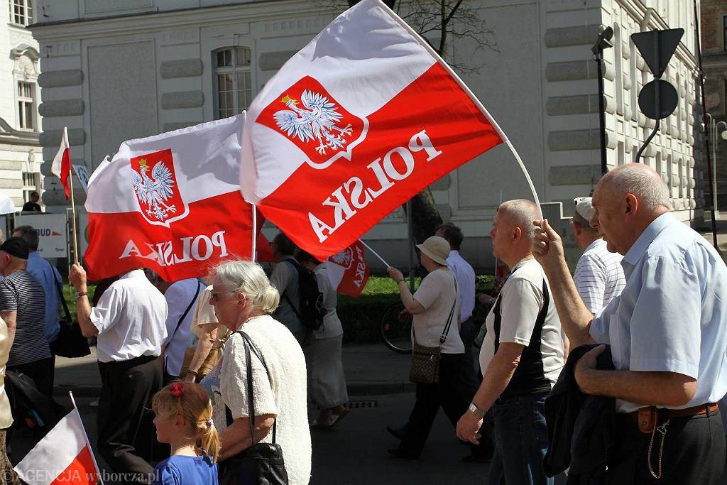 Marsz poparcia dla TV Trwam