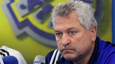 Trener Arki Petr Nemec