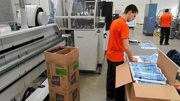Hala produkcyjna fabryki Plastica w Kowalewie Pomorskim