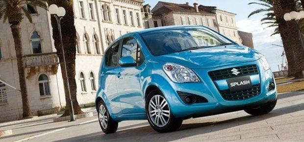Suzuki Splash | Drobne poprawki