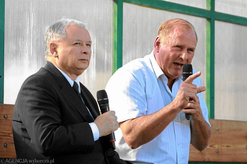 Jarosław Kaczyński, Jan Tomaszewski