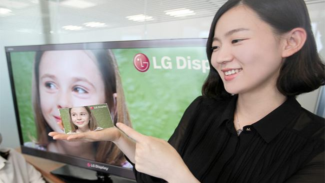 LG nowym urządzeniem chce przyćmić Retinę