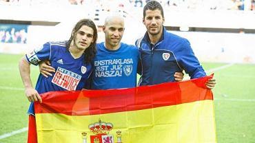 Ruben Jurado, Alvaro Jurado i Fernando Cuerda