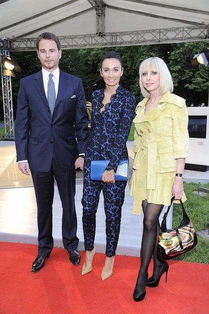Dominika Kulczyk Lubomirska, Jan Lubomirski i Grażyna Kulczyk