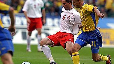 Arkadiusz Radomski, mecz Szwecja - Polska