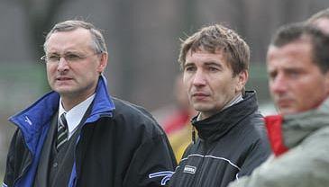 Stefan Mleczko (pierwszy z prawej)