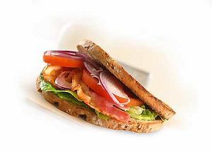 BLT (kanapka z bekonem, sałatą i pomidorem)