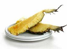 Pieczony ananas z tequilą - ugotuj
