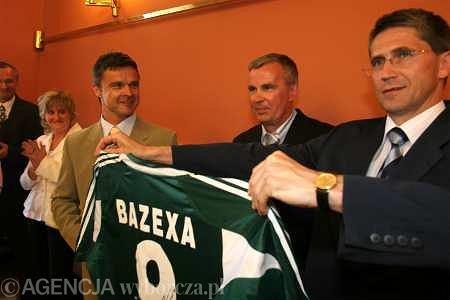 Krzysztof Warzycha (z lewej)