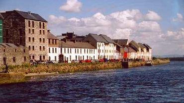 Panorama irlandzkiego Galway