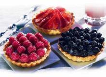 Tartaletki (kruche babeczki z owocami) - ugotuj