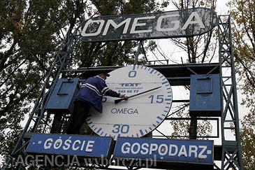 Omega na stadionie Ruchu Chorzów