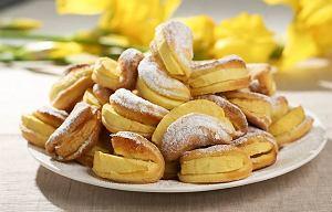 Ciastka z jabłkami na gorąco