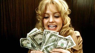 Goldie Hawn na planie filmu ''Dollars'' z 1971 r. Wtedy były jeszcze droższe niż dzisiaj.
