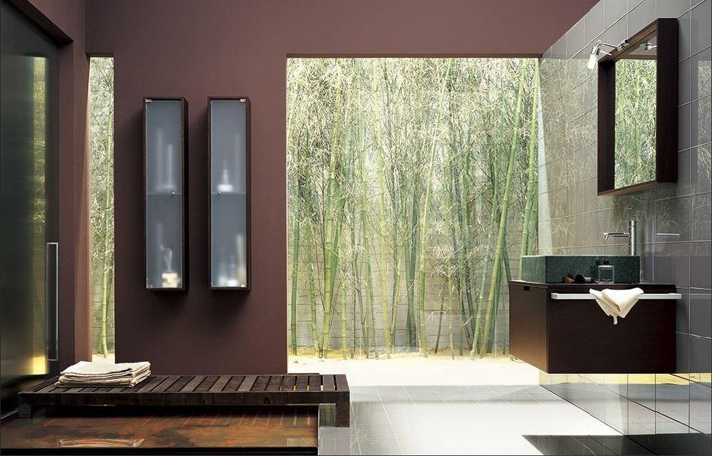 Seria Thais firmy Altamarea to bardzo modne połączenie ciepła drewna, ciepłych kolorów z chłodnymi ścianami