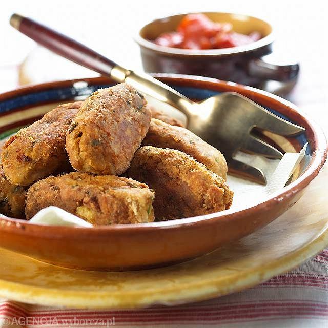 Polpettine di lesso - pulpeciki z gotowanego mięsa i warzyw
