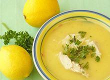 Avgolemono - grecka zupa cytrynowa - ugotuj