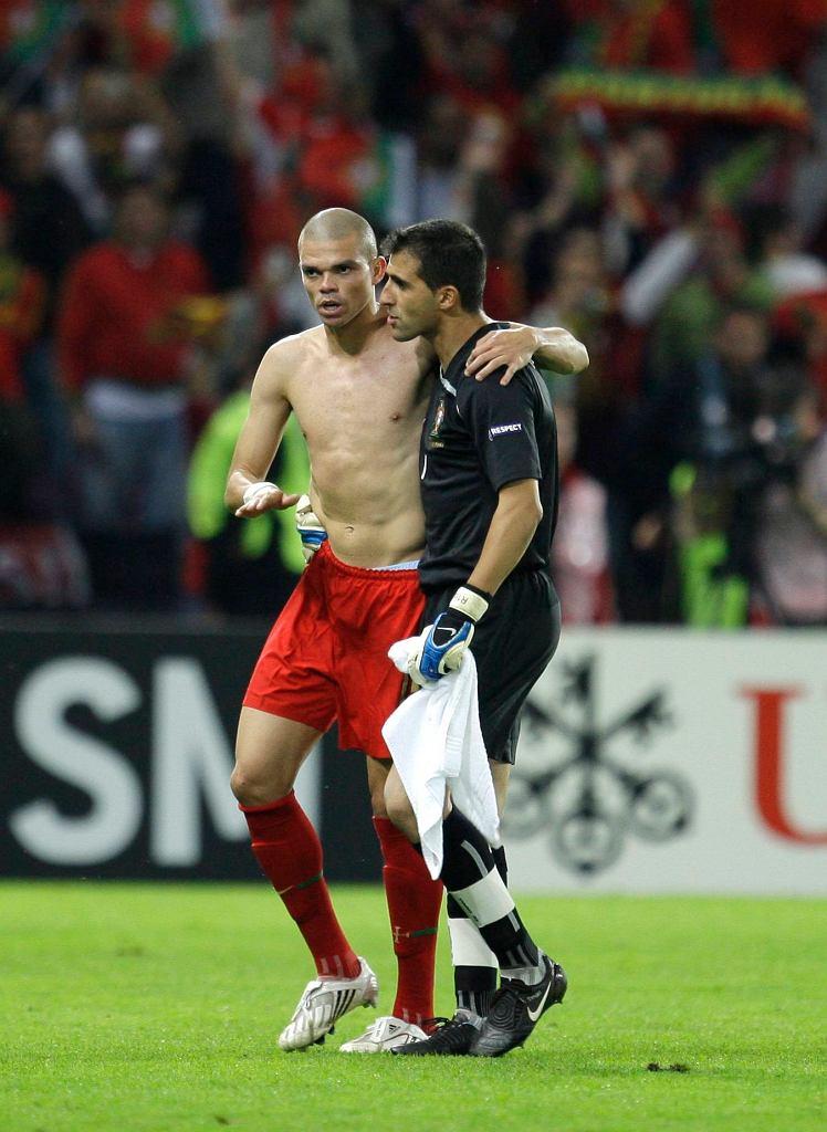 Główny bohter meczu, Pepe - zdobywca dwóch bramek, w tym jednej -błędnie - nieuznanej