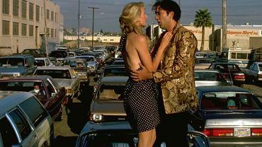 "Scena z filmu ""Dzikość serca"" - Nicolas Cage i Laura Dern"