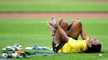 Ronaldinho zrelaksowany