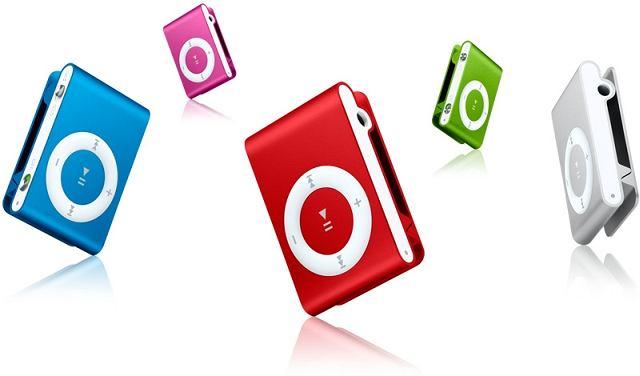 Rodzina iPodów shuffle