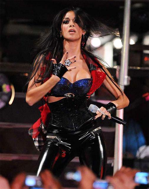The Pussycat Dolls promują swój nowy album fot. MARCOCCHI GIULIO/SIPA/East News